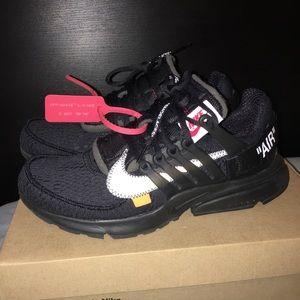huge selection of bce67 4b2c3 Other - Off-white Nike prestos Sz 9